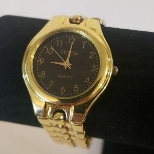 GENEVA Gold Ladies Chunky Watch